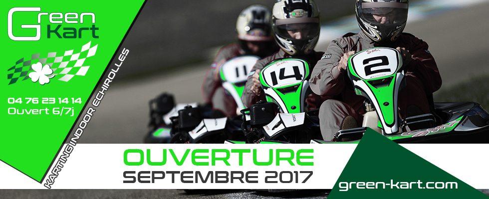 Green Kart circuit de Karting près de Grenoble