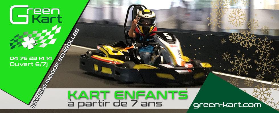 Circuit de karting enfant