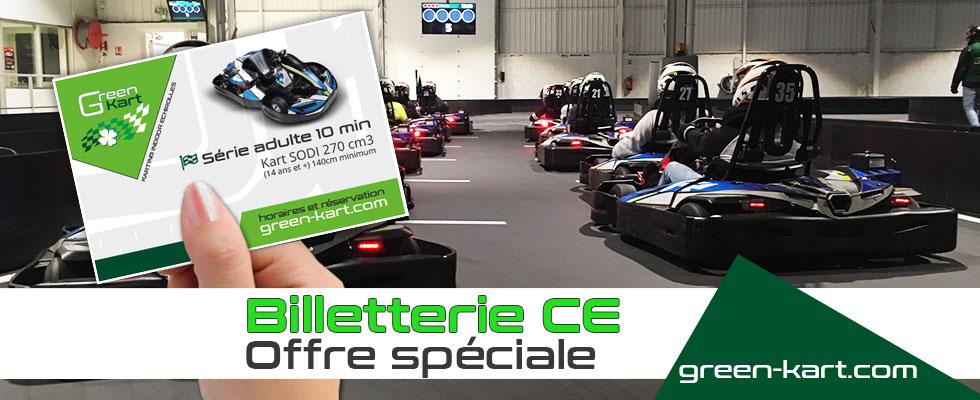Green kart comité entreprise karting Grenoble