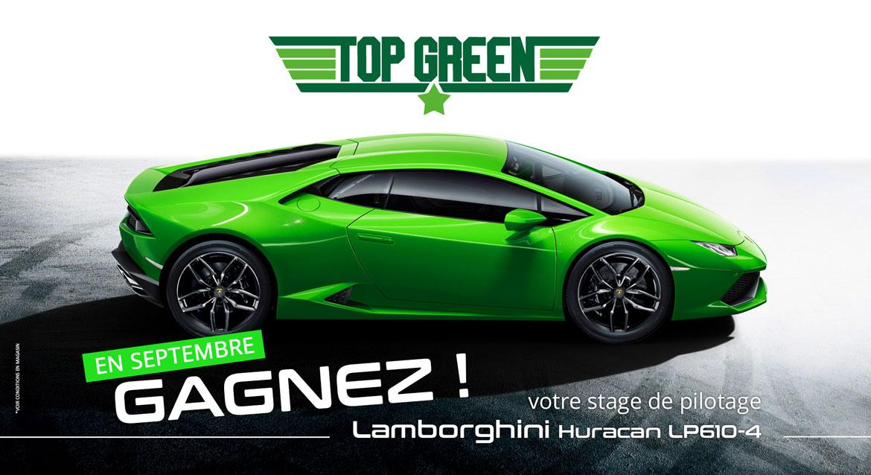 Circuit Du Laquais Calendrier.Top Green Gagnez Votre Stage De Pilotage En Lamborghini
