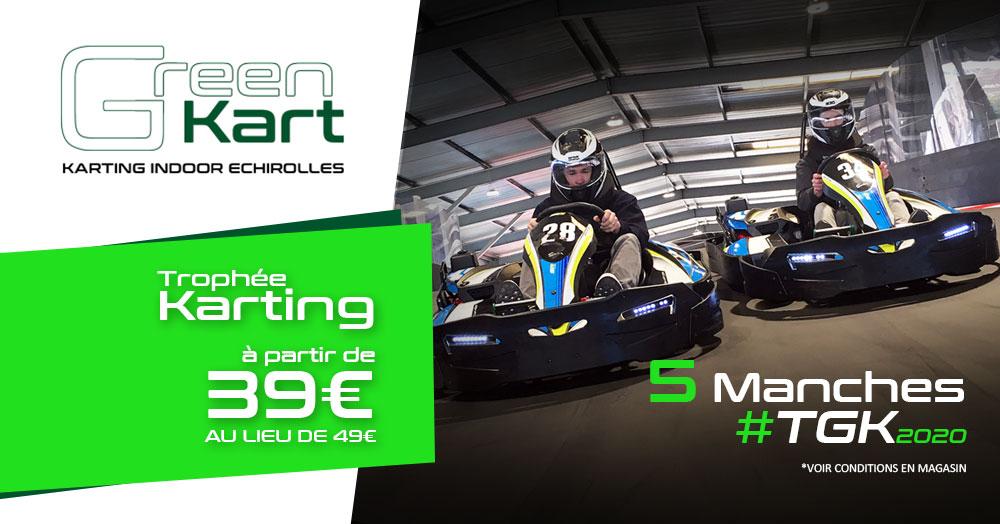 Découvrez les formules TGK trophée Karting en famille à Grenoble