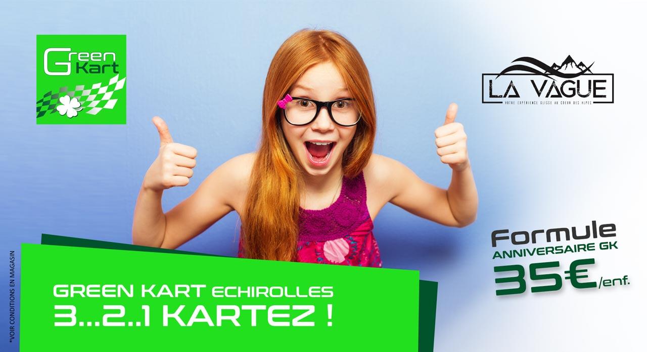 Anniversaire Green Karting Grenoble
