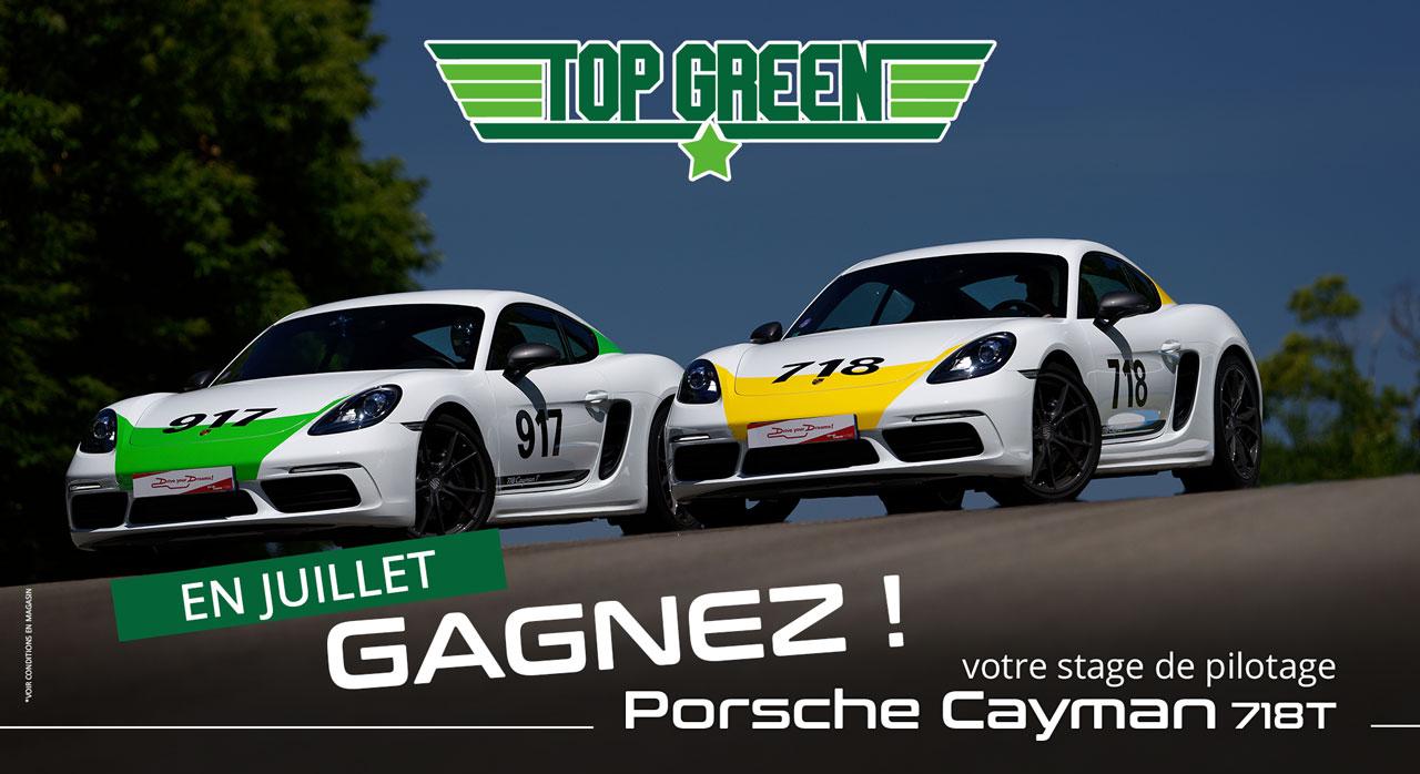Gagnez un stage de pilotage en Porsche Cayman au Circuit du laquais