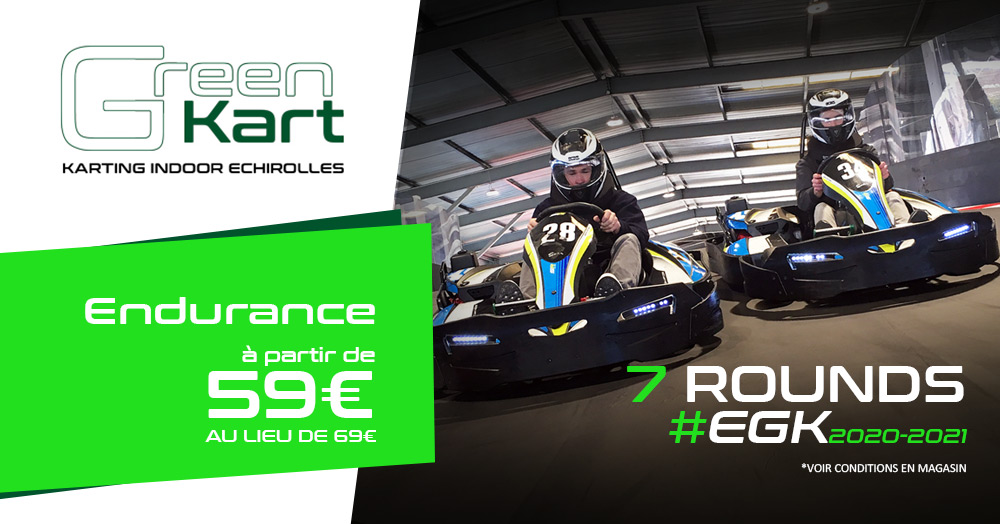 Endurance Karting à Grenoble