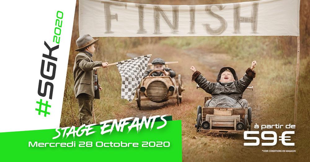 Stage karting enfants à Grenoble