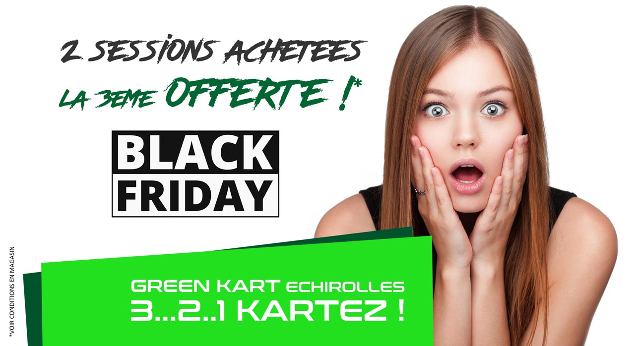 Black Friday GREEN KART