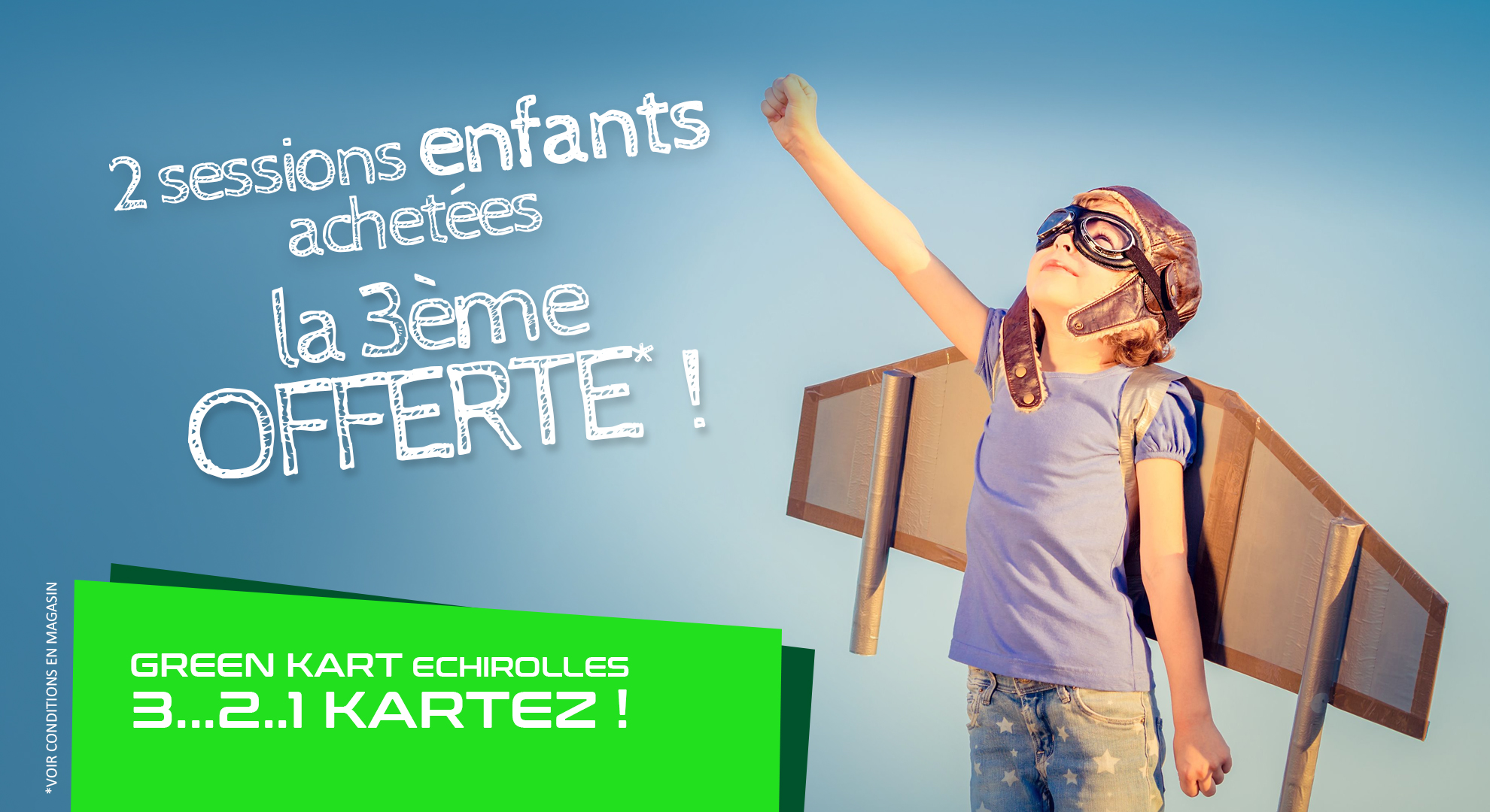 Promotions Karting Grenoble pour enfants