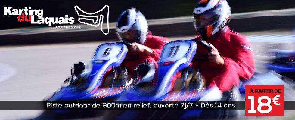 Karting du Laquais à Champier