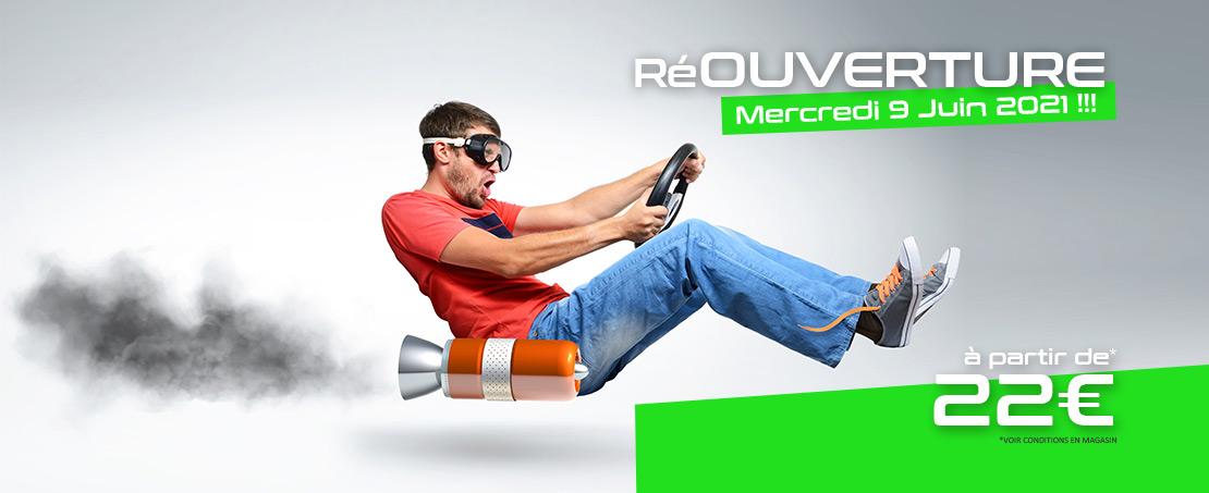 Réouverture Green Kart !