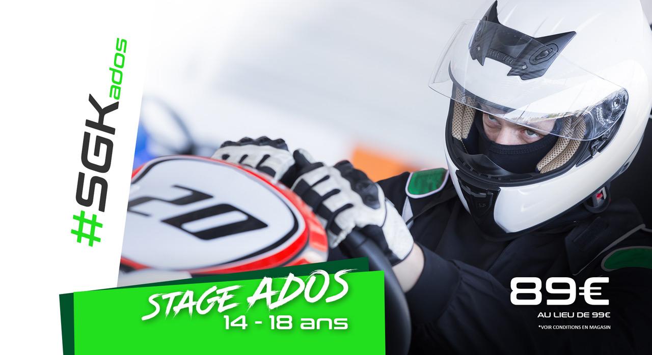 Stage Karting ados #SGK