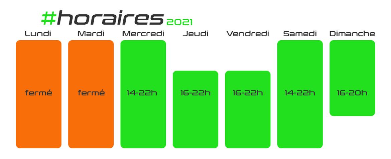 calendrier de GreenKart